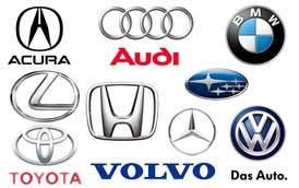 Import Vehicles we Service
