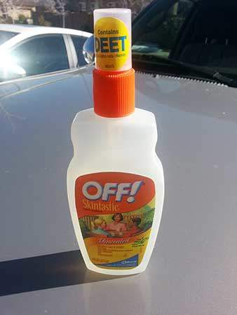 Insect Repellant with DEET
