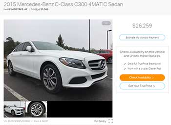 Buying a Used Mercedes