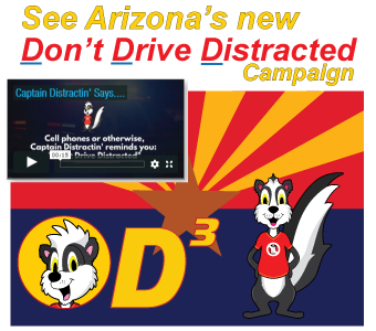 D3 Arizona Don't Drive Distracted